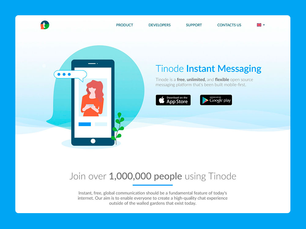 Tinode Instant Messaging